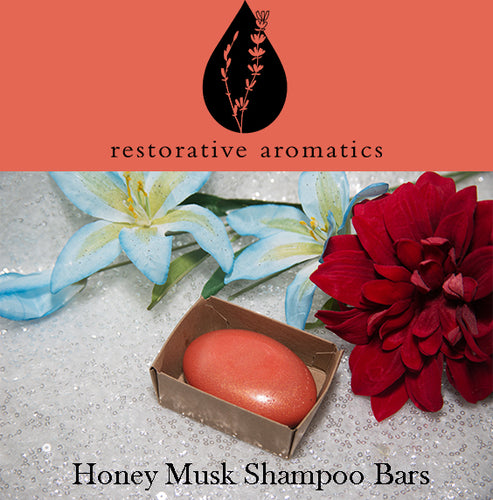 Honey Musk Shampoo Bars