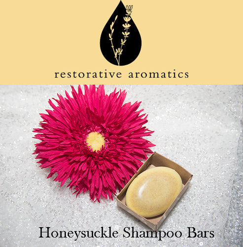 Honeysuckle Shampoo Bars
