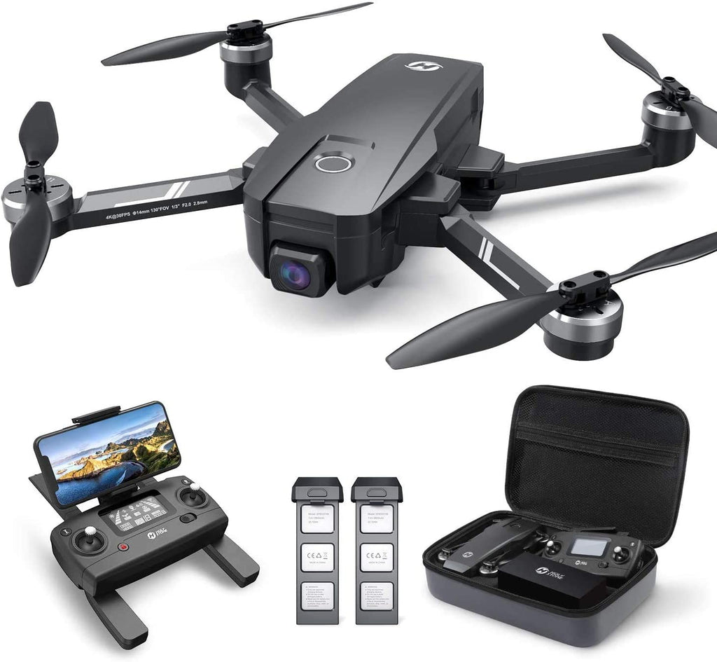 HS720E Drone With Remote Control, Batteries and Carry Case