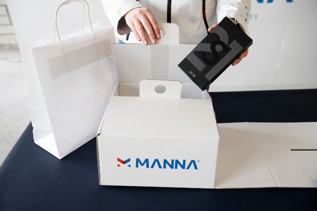 Manna Drone Delivery Package
