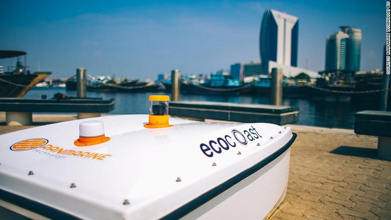 WasteShark Water Drone partners with Ecocoast