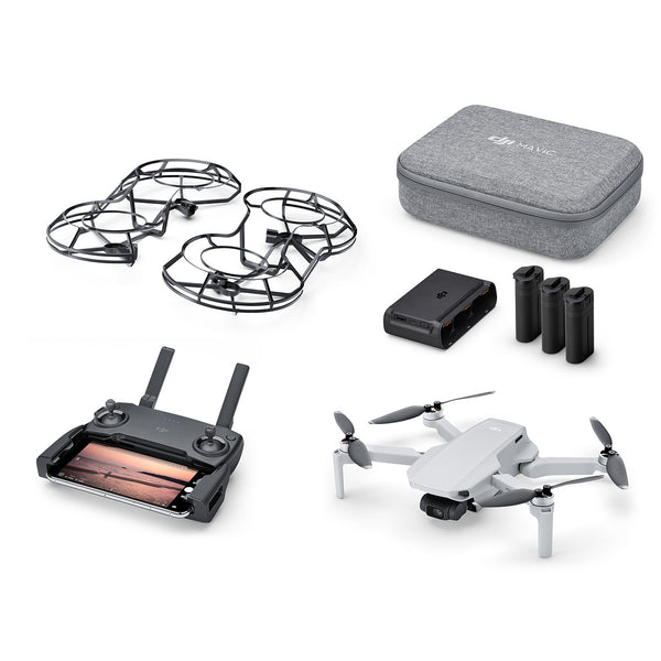 DJI Mavic Mini Fly More Combo (Drone weighs only 249g)