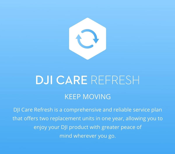 DJI Mavic Mini Care Refresh Card