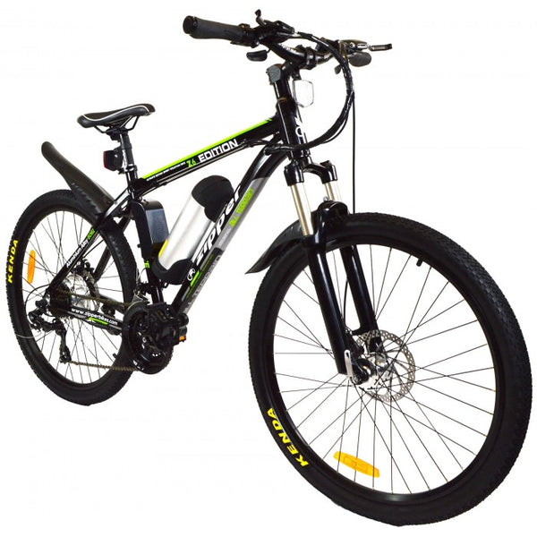Zipper Z6 21-Speed Ultimate Edition Electric Mountain Bike 26""