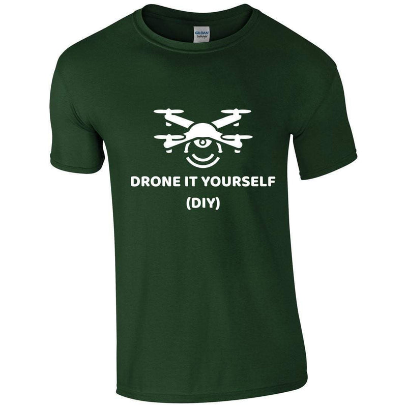 Dronescend T-Shirts Drone It Yourself T-Shirt