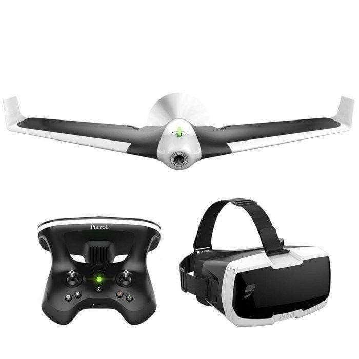 Parrot Airplane Parrot Disco FPV With Controller and Glasses (White)