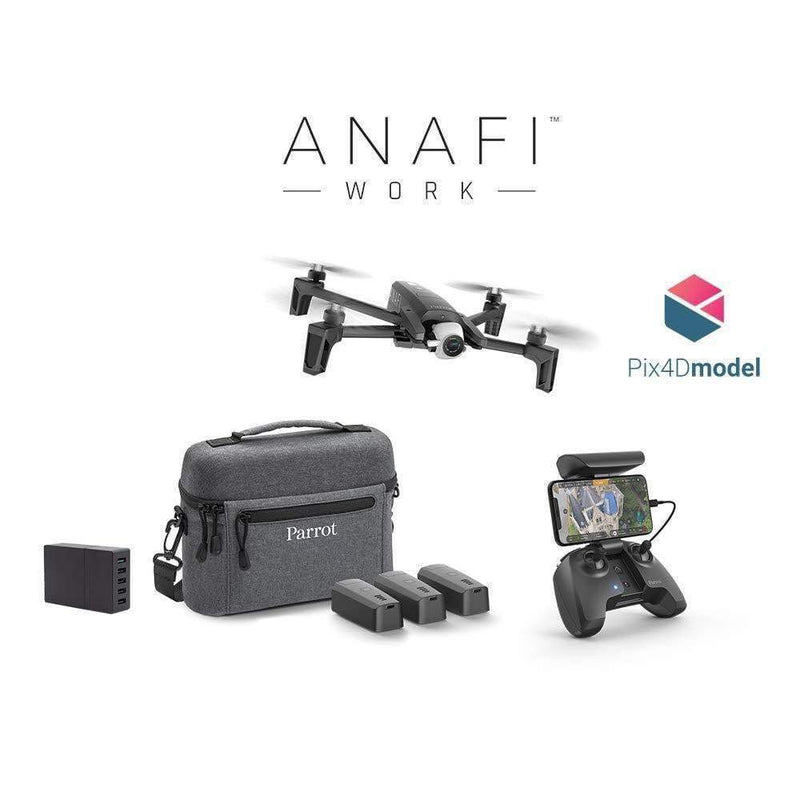Parrot Quadcopters Parrot Anafi Work