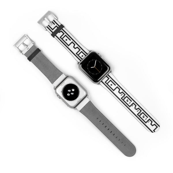 CM Monogram print iWatch Band