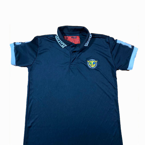 Colourful Money Polo Shirt (Blk/Wht)