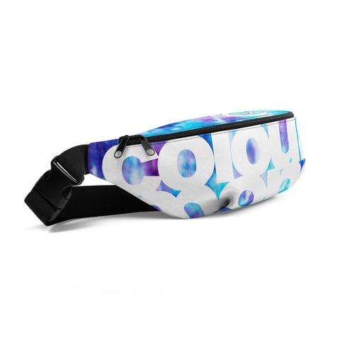 Blue Nolty Money Fanny Pack
