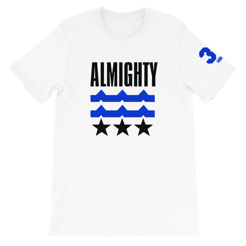 ALMIGHTY Short-Sleeve T-Shirt Blue
