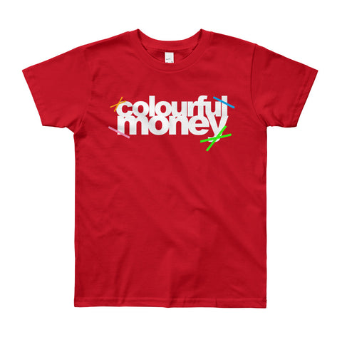 Colourful Money kids t-shirt
