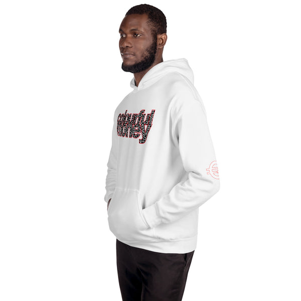 Cracked Font Hooded Sweatshirt
