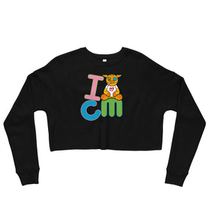 I heart CM Crop Sweatshirt