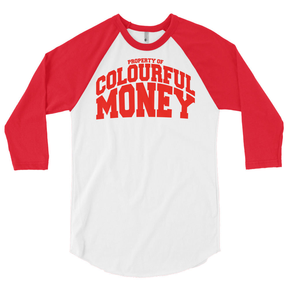 COLOURFUL MONEY Baseball shirts