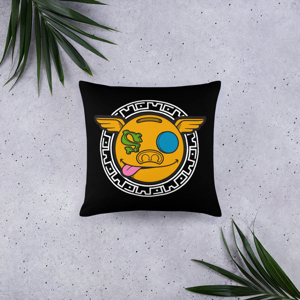Hanz0 Crest Colourful Money Pillow
