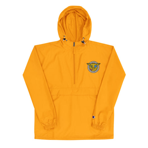 Colourful Money x Champion Embroidered Packable  Rain Jacket