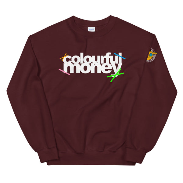 Colourful Money FONT sweatshirt