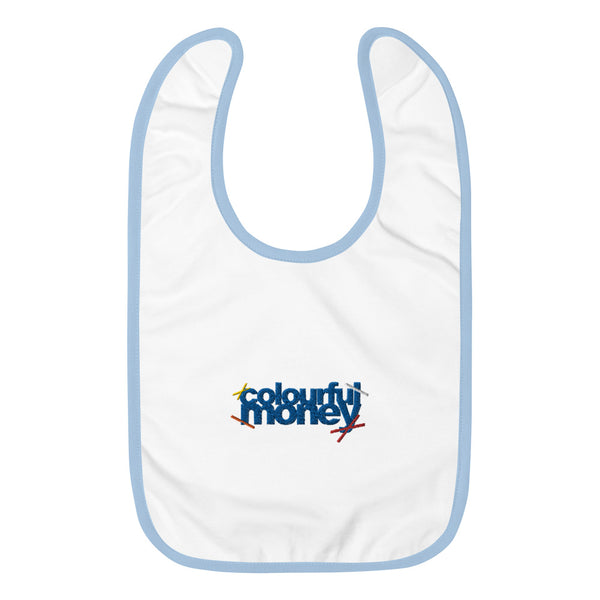 Baby Bib by Colourful Money