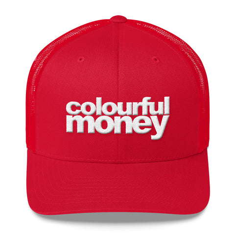 Trucker cap by Colourful Money