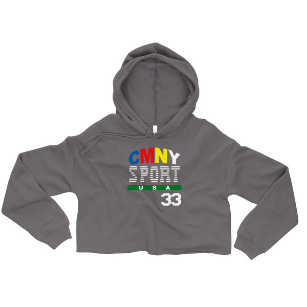 Colourful Money SPORT Crop Hoodie