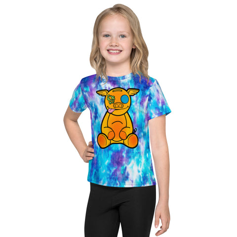 Kids  Tye-dye HanZ0 Plush T-Shirt