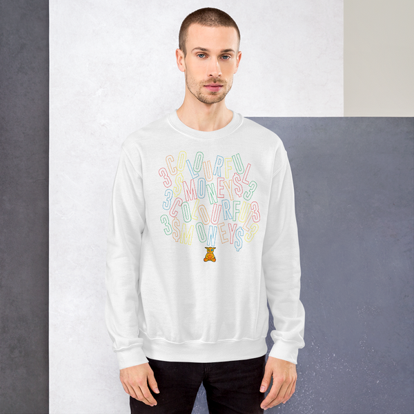 Scattered Letter Sweatshirt