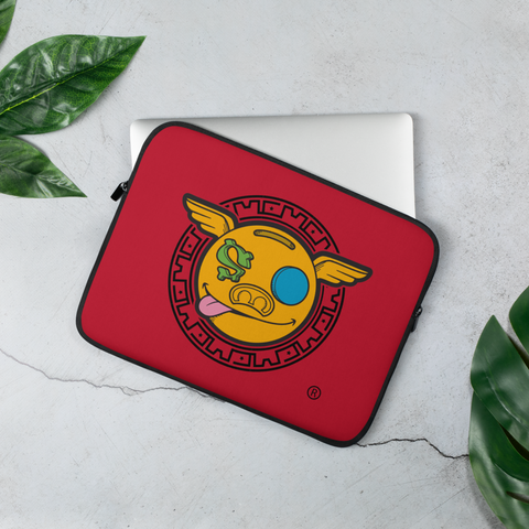 HanZ0 LoGo Custom Laptop Sleeve (Red)
