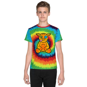 Youth  Tye-Dye HanZ0 Plush T-Shirt