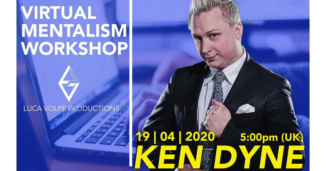 Ken Dyne 2-hr Mentalism Workshop