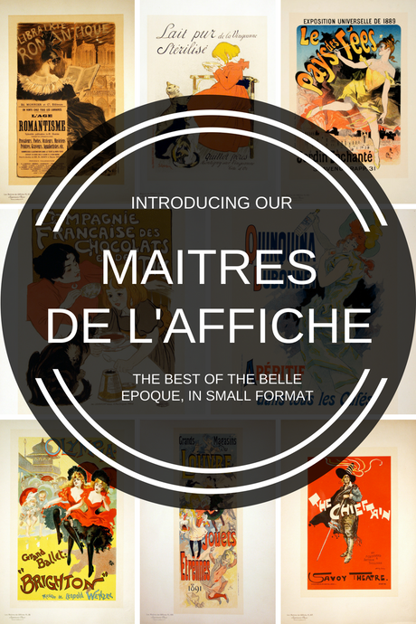 "Maitres de l'Affiche - All About the ""Masters of the Poster"""