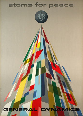 Atoms for Peace by Erik Nitsche