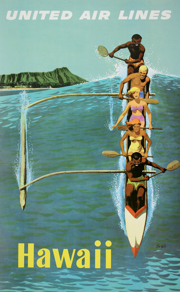 Hawaii Poster by Stan Galli