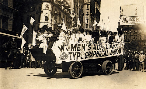1909 Labor Day Parade in NYC