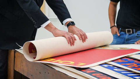 Posters Being Shipped
