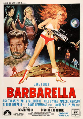 Barbarella Original Vintage Movie Poster