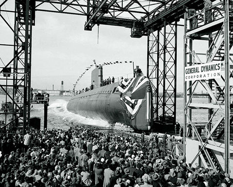 USS Nautilus, the first nuclear submarine