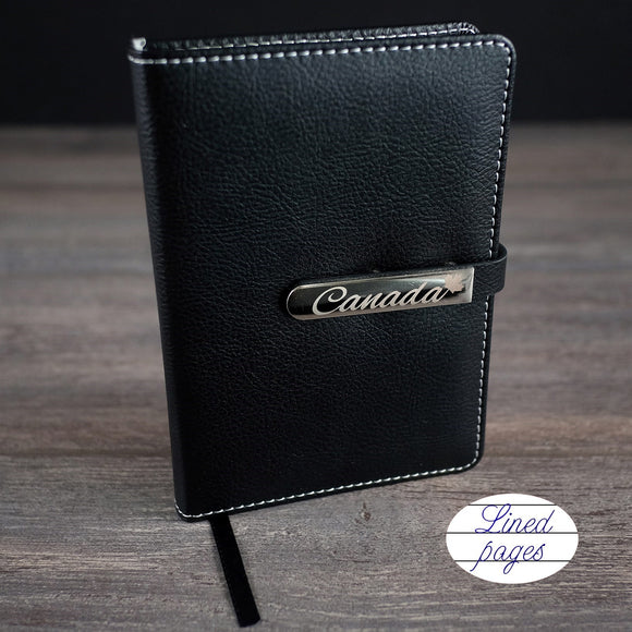 Canada Notebook with Buckle