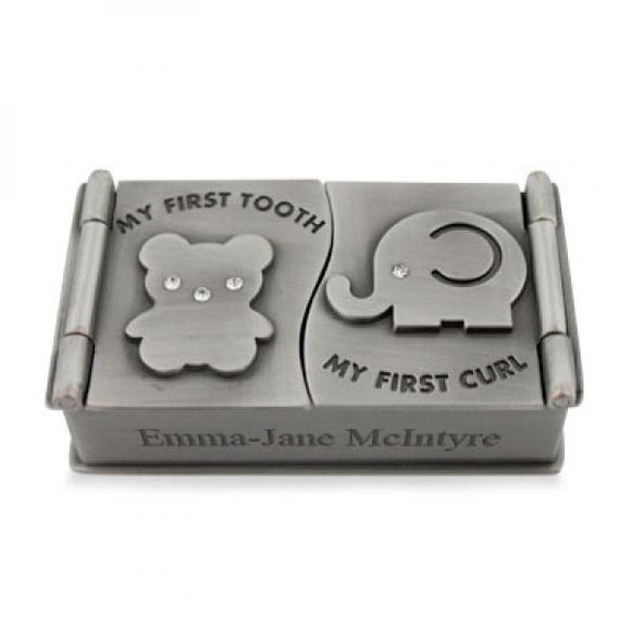 Elephant&Bear First Tooth&Curl Box