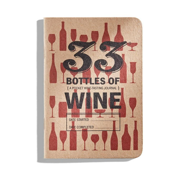 33 Bottles of Wine - Wine Tasting Journal