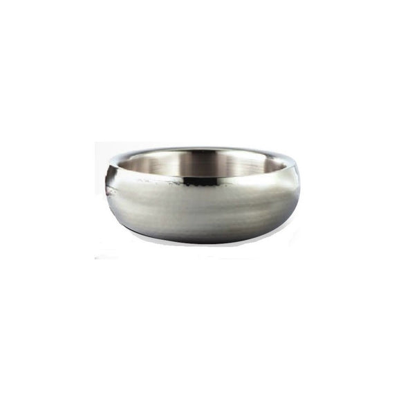 Stainless Steel Hammered Salad Bowl