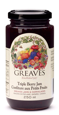 Greaves Tripe Berry Jam 250ml