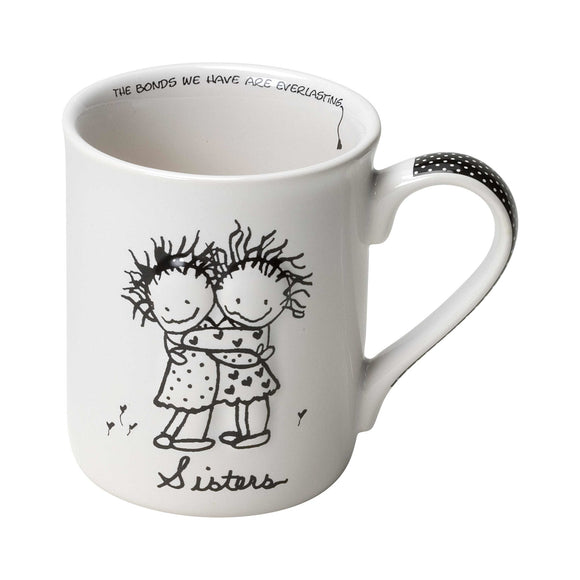 Children of the Inner Light Sisters Mug (Hugging)