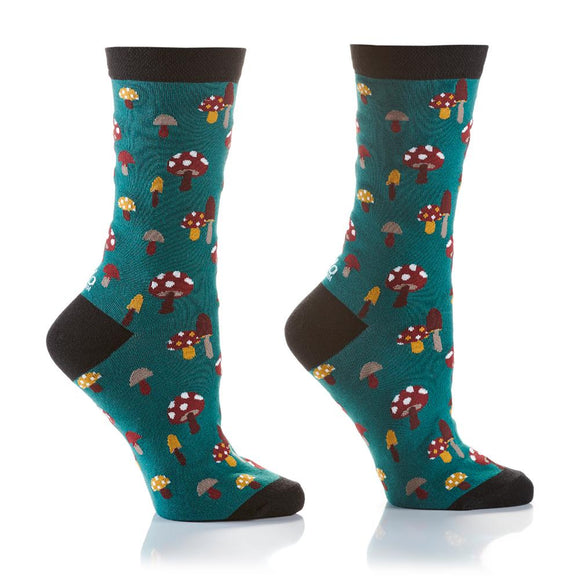 Yo Sox Woodsy Fairy Women's Crew Socks