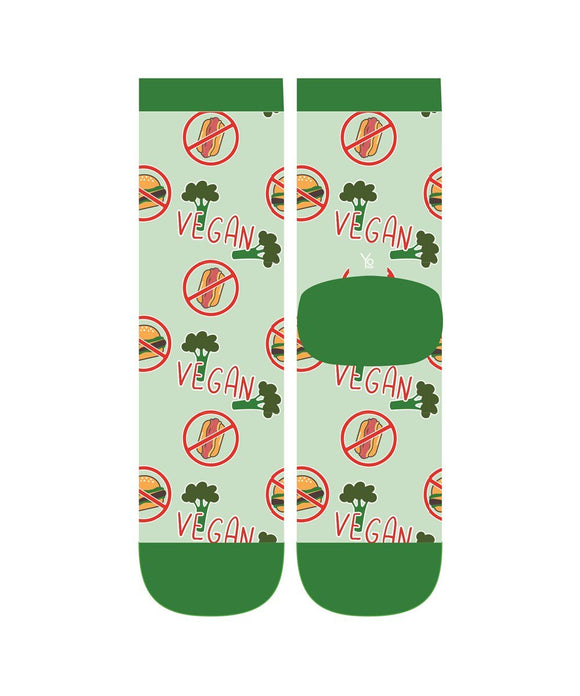 Yo Sox I'm a Vegan Women's Crew Socks