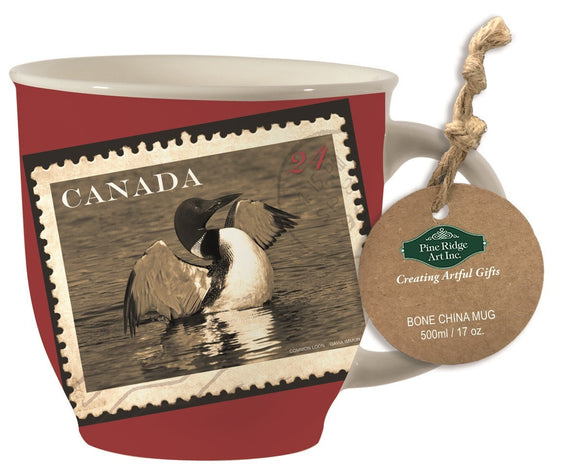 Loon Flight Mug