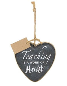 Teacher Heart Ornament