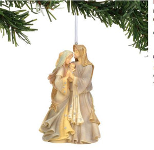 Foundations Holy Family Masterpiece Ornament