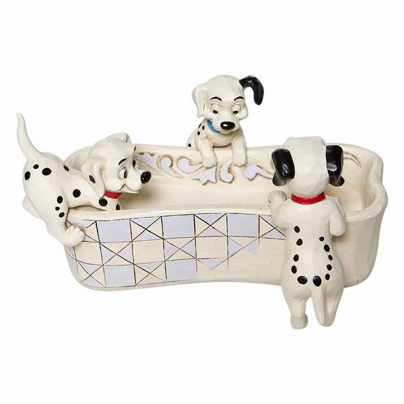 Jim Shore 101 Dalmatians Bone Dish