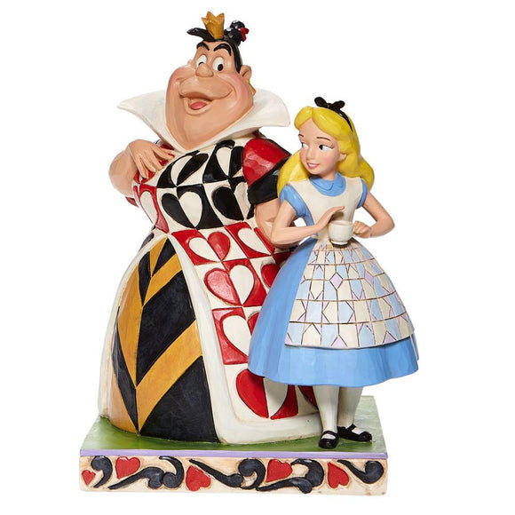 Jim Shore Alice and Queen of Hearts